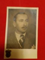 Antik fotó képeslap Portré a szegedi Székely műteremből a képek szerint