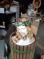 Porcelánbol készült , Jézus.