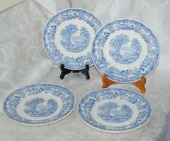 Copeland Spode SEVERN Pattern 4 db szendvicses tányér 1940