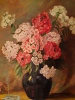 Clauder Margit :virágcsendélet