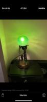 Loetz figurális asztali lámpa