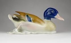 0Z595 Régi Metzler - Ortloff porcelán kacsa