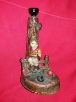 Régi Izsépy Margit  kerámia lámpatest a  képek szerint  28 cm