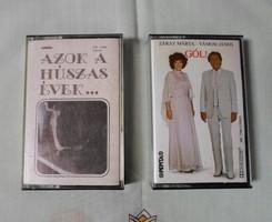 Retro / vintage könnyűzenei kazetták: Záray-Vámosi - Gól!; Azok a húszas évek
