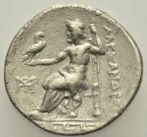 Nagy Sándor ie.  282-225 tetradrachma