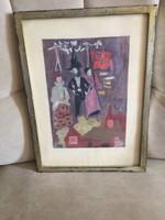 Iványi Katalin eredeti festménye