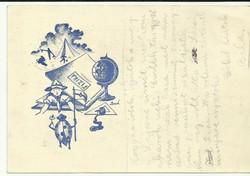 Bozó,:Cserkész levelezőlap-1939