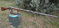 Osztrák-Magyar 1854M Lorenz különcsapat puska szuronyával