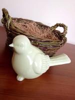 Nagy kerámia madár - húsvéti kreatív dekoráció
