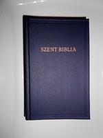 Szent Biblia Ó és Új testamentumának foglaltatott egész szentírás Károli Gáspár fordítása