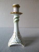 Hollóházi Barokk gyertyatartó 20 cm