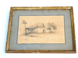 Ceruzarajz 1887-ből
