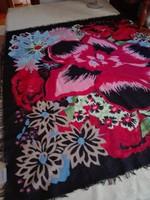 Hatalmas tiszta pamut kendő, 104 x 107 cm