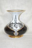Nagy méretű Hollóházi Jurcsák váza