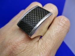 Különleges extra nagy ezüst gyűrű