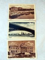 3 db régi képeslap SZEGED