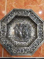 Erdélyi-magyar fejedelmi ezüst dísztányér