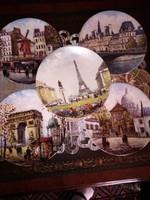 Bradex porcelánszámozott certifikált 10darab Párizs sorozst