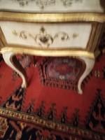 Antik velencei barok kis fiokoskomod 45x32x51cm magas