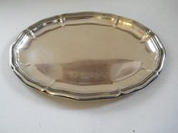 Antik ezüst (835) ovális tálca