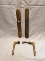 Réz kilincs pár cilinderrel (4)