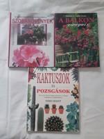 3 könyv növények ápolásához