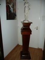 Nagyon ritka, óriási méretű antik EMPIRE posztamens / szobortartó az 1800-as évekből