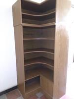Farád sarok könyves szekrény Cardo bútorgyár