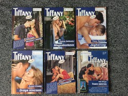 Tiffany regények - 17 történet (9+1+2 db)