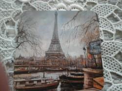 Párizsi torony pohár alátét