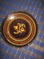 Kerámia tányér, 23 cm, HMVH (56)