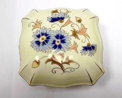 Zsolnay búzavirágos bonbonier (ZAL-R65539)