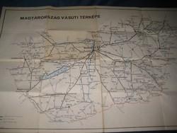 Magyarország  vasúti térképe  +  Külföldi összekötések hálózata  1967 .