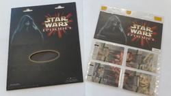 Star Wars telefonkártya sor - Limitált kiadás - Csomagolt, használatlan!