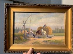 Antik festmény , Wágner szignó