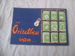 """""""Szücs Pál Bank"""" sorsjegy bélyegekkel - 1920-as évek"""