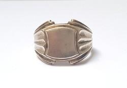 Férfi ezüst pecsétgyűrű 66-os méret 8,25 gr