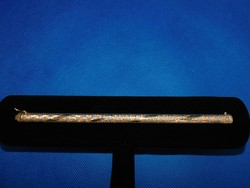 Arany több színű 18k női karlánc   25.7 gr