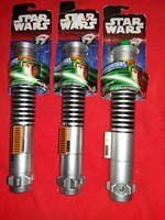 Retro STAR WARS Luke Skywalker lézerkardja HASBRO hibátlan darabra  a képek szerint