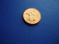 CIPRUS 1 EURO CENT 2012! KECSKE! ! UNC! RITKA!
