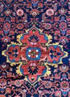 Antik Kézi Csomózású Malayer Perzsaszőnyeg 130x190