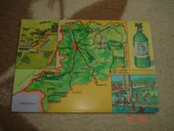 Képeslap-térképes