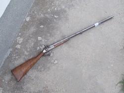 Duplacsövű csappantyús vadászpuska 5, mesterjegyes lakattal