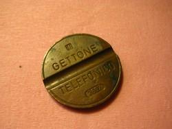 Telefon   zseton  , olasz , 250  mm