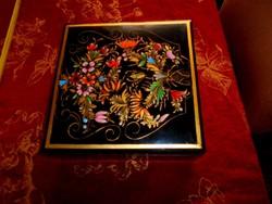 Kézzel festett asztali fadoboz