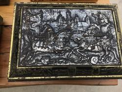 Nünbergi pleh kekszes dobozok