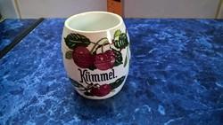 Gyönyörű Villeroy & Boch pohár (?)