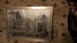 Gyönyörű Ezio Vannucci litográfia