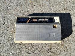 Sokol régi rádió