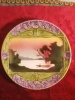 Körmöcbányai fali tányérok 5 db